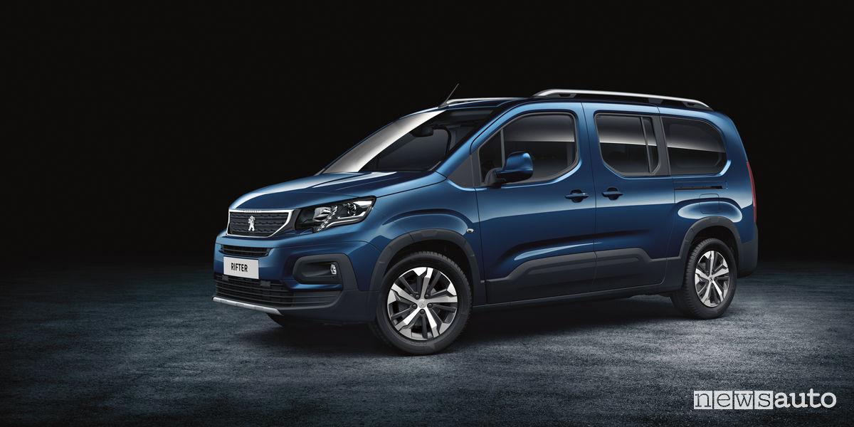 veicolo commerciale Peugeot Rifter