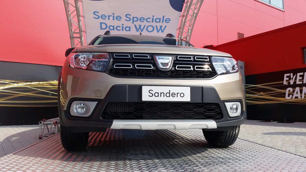 Frontale Dacia Sandero Serie Speciale WOW