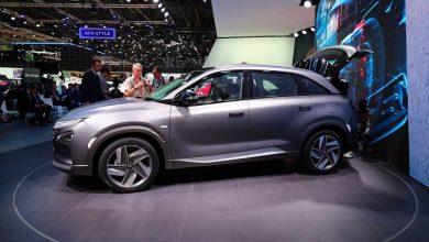 Photo of Hyundai NEXO SUV ad idrogeno Ginevra 2018