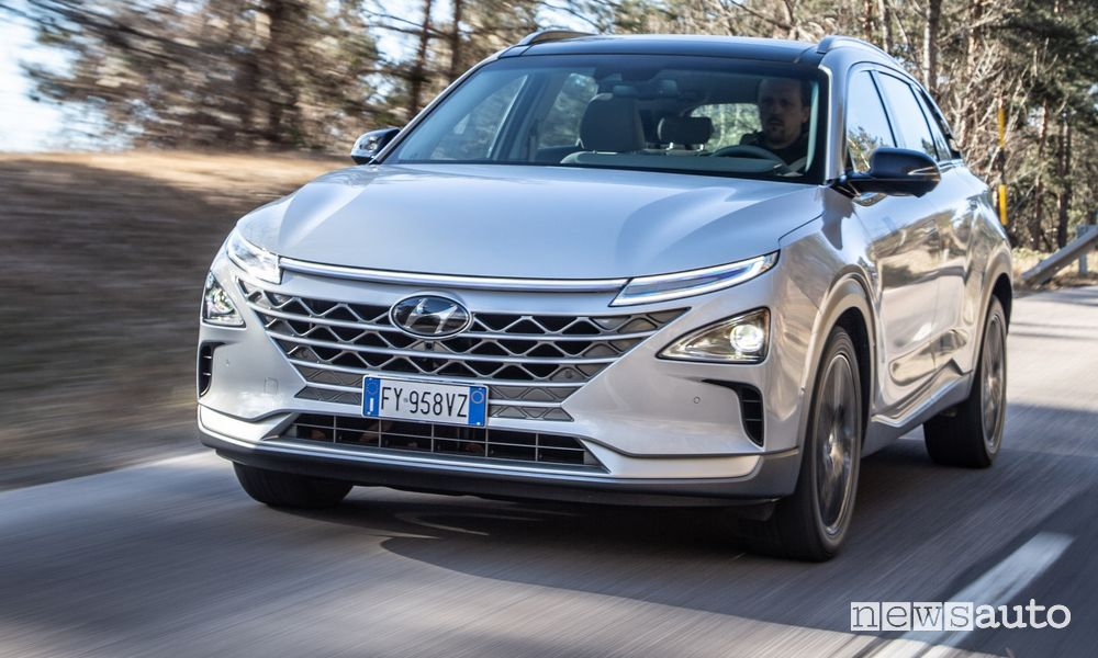 Hyundai NEXO, caratteristiche, autonomia e prezzo del SUV ad idrogeno