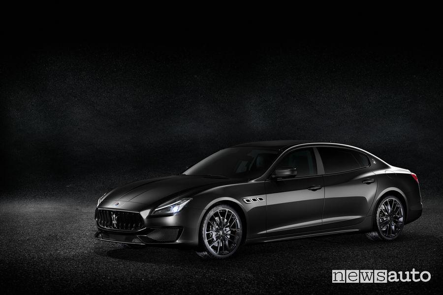 Maserati Ginevra 2018 Quattroporte Nerissimo Edition