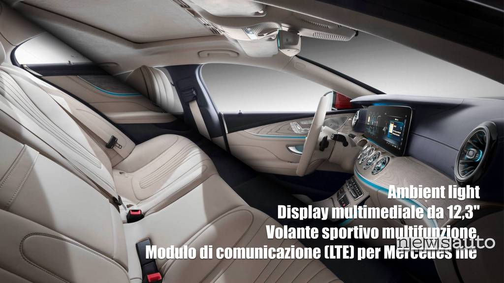 Mercedes-Benz CLS 2018 interni
