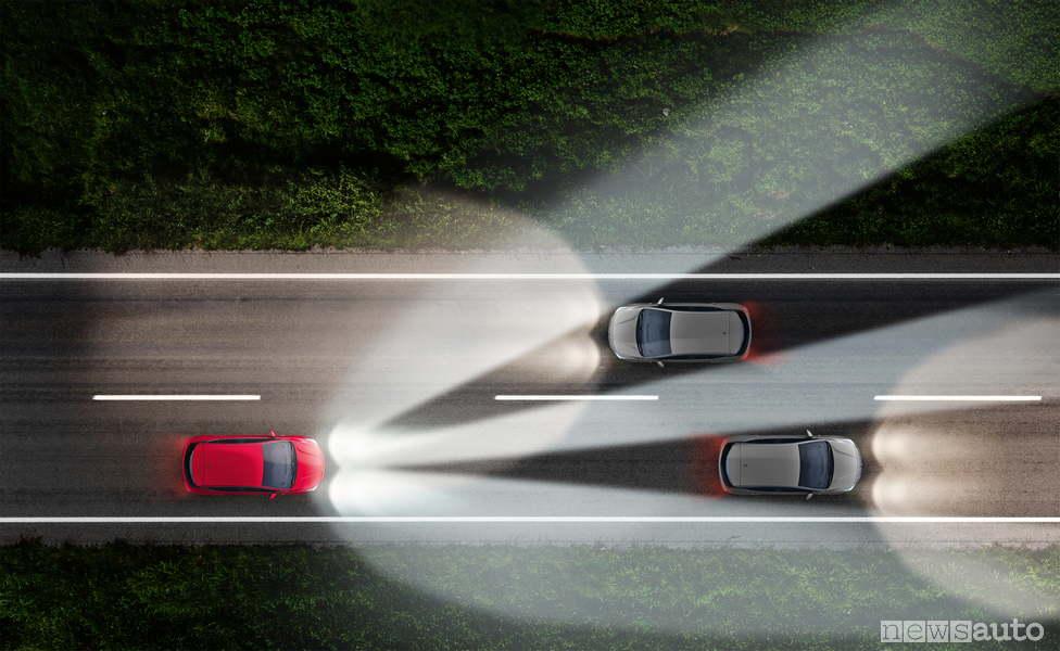Opel-fascio-luce-fari-led