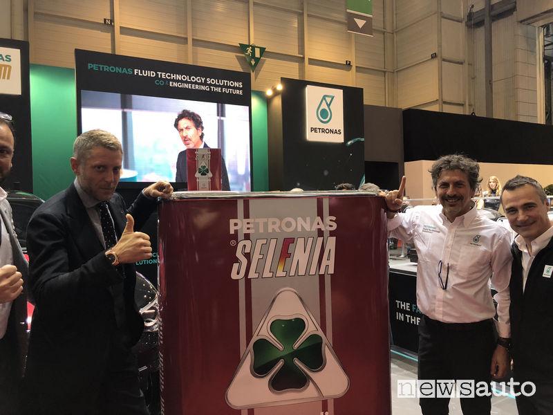 Petronas Ginevra 2018 Selenia Quadrifoglio 5W-40