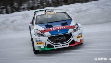 Photo of Rally sul ghiaccio con la Peugeot 2018 T16 ed Andreucci
