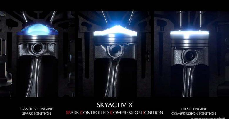 come consumare meno benzina con Skyactiv-X
