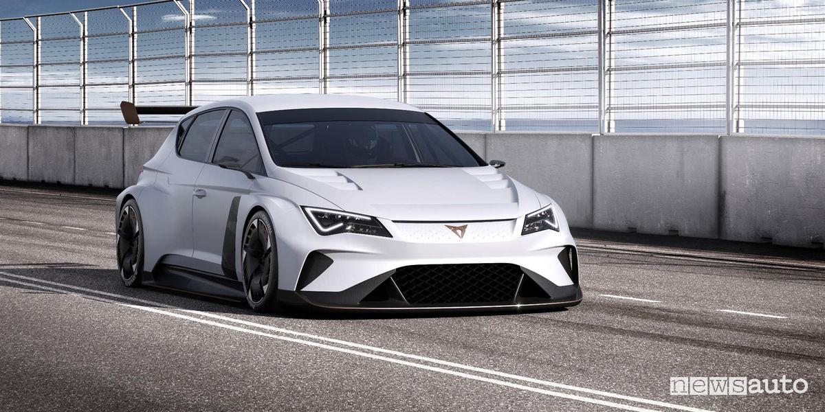 Seat Ginevra 2018 Cupra e-Racer