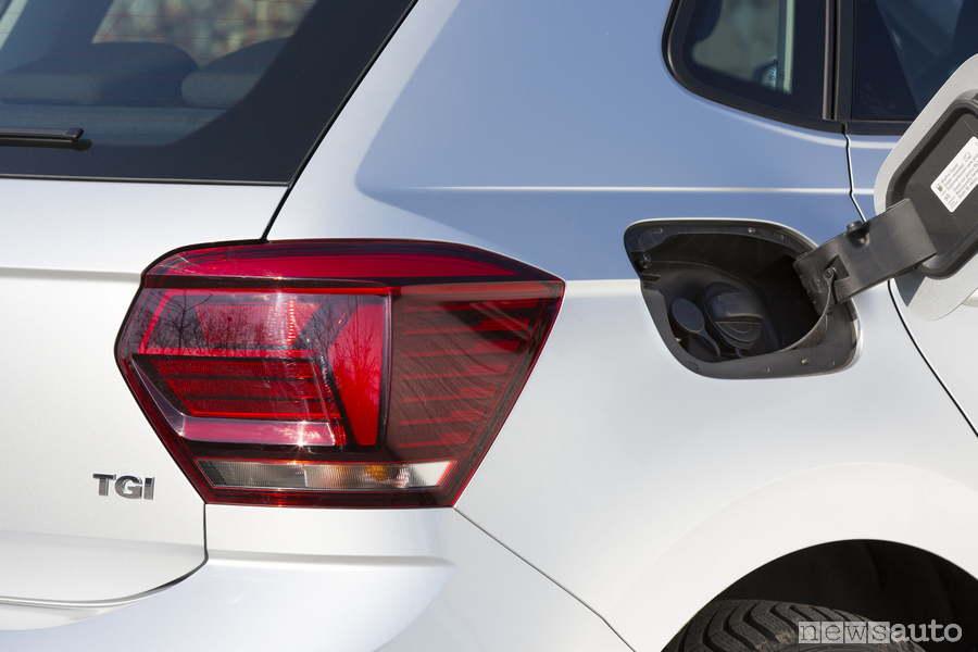 Tappo serbatoio Volkswagen Polo TGI metano