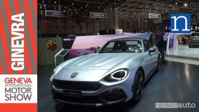 Photo of Abarth 124 GT al Salone di Ginevra 2018
