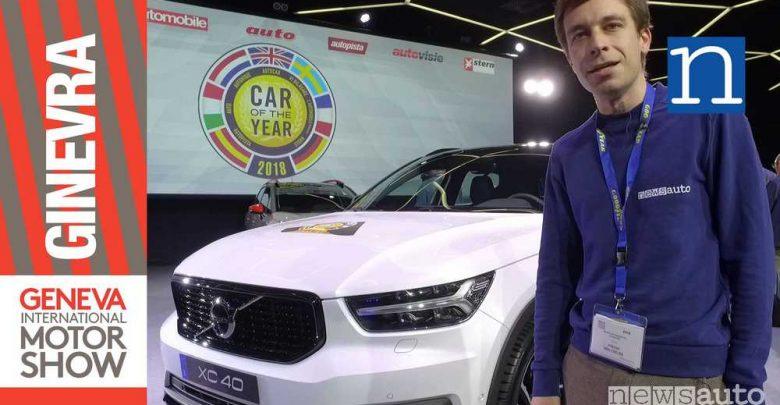 Photo of Auto dell'Anno 2018 è la Volvo XC40