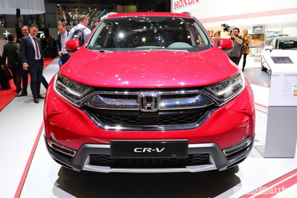 Honda CR-V 2018 La Nuova Generazioni Al Salone Di Ginevra 2018