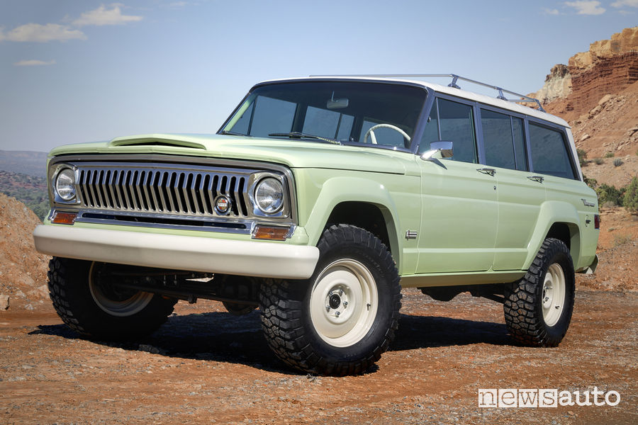 Jeep concept Easter Jeep Safari 2018 Jeep Wagoneer Roadtrip