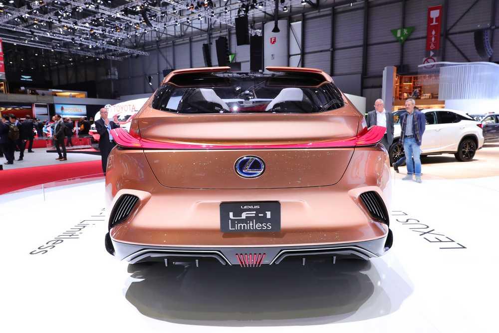 Lexus Ginevra 2018 LF-1