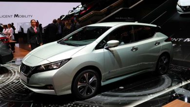 Nuova Nissan Leaf Ginevra 2018