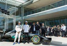 Hamilton e Bottas nel nuovo centro ricerche Petronas