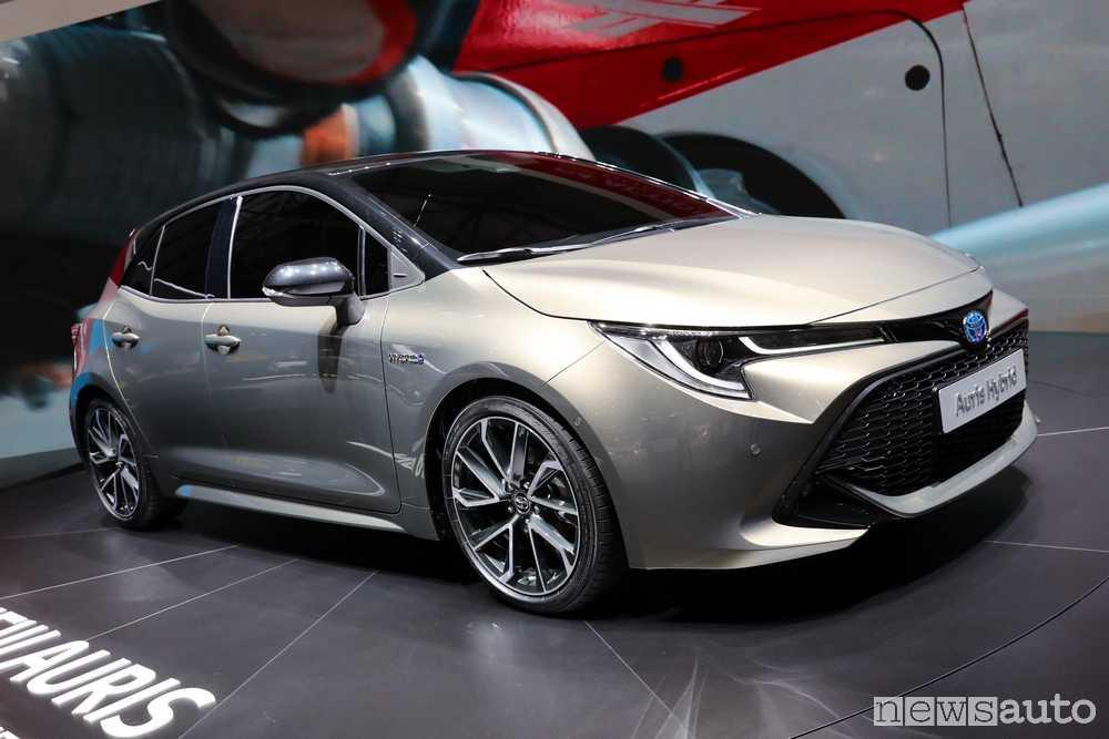 10 auto ibride più vendute in Italia Toyota Auris 2018 Ginevra