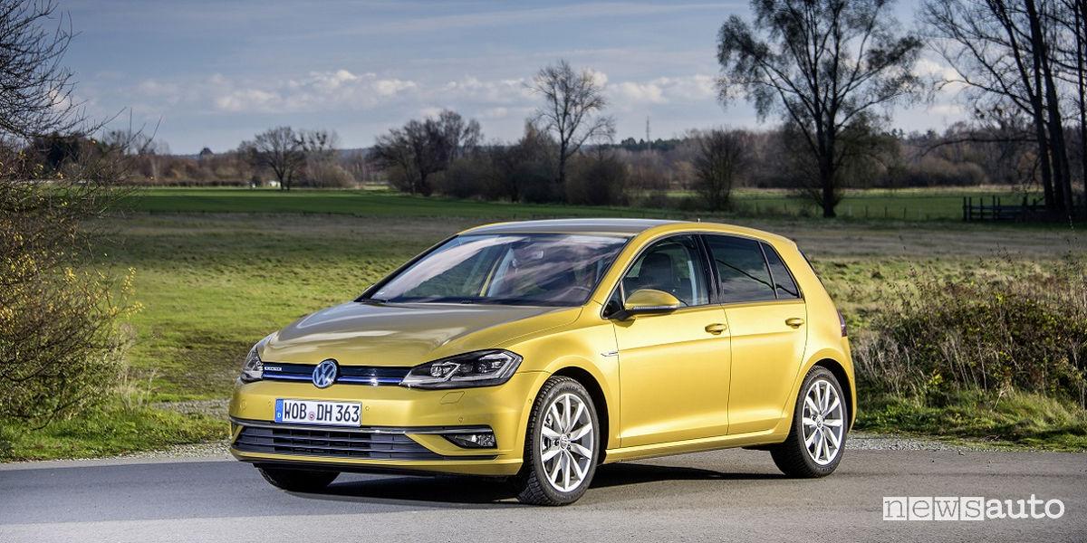 Classifica auto più vendute Volkswagen Golf Benzina 1.5 TSI ACT
