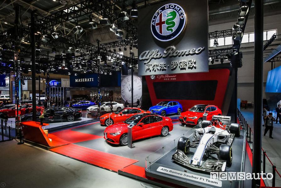 Alfa Romeo al Salone di Pechino 2018