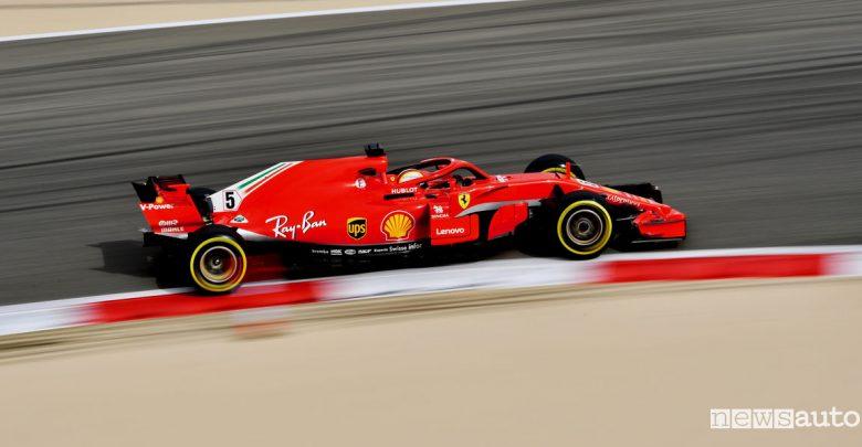 Qualifiche F1 Gp Bahrain 2018 Ferrari Vettel