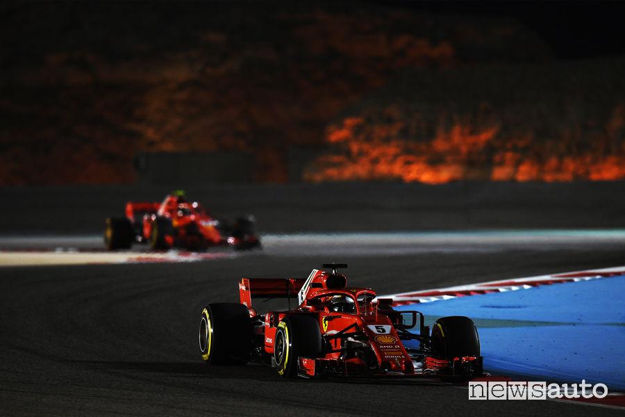 Qualifiche F1 Gp Bahrain 2018 Ferrari