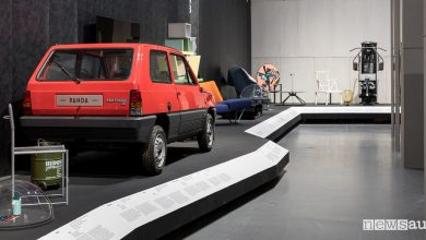 Photo of Fiat Panda 30 opera d'arte alla Triennale di Milano