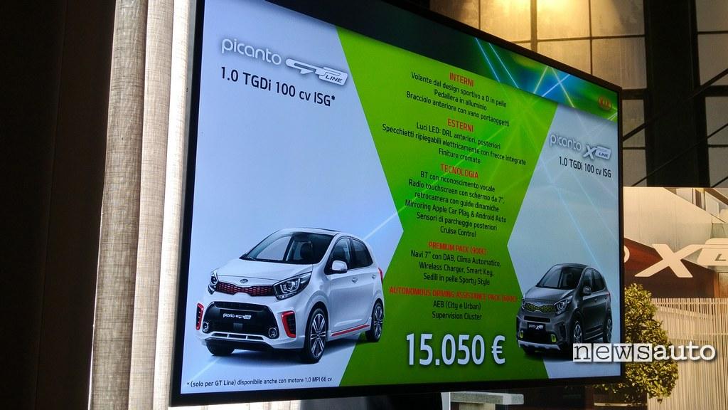 Kia Picanto X Line Prezzi
