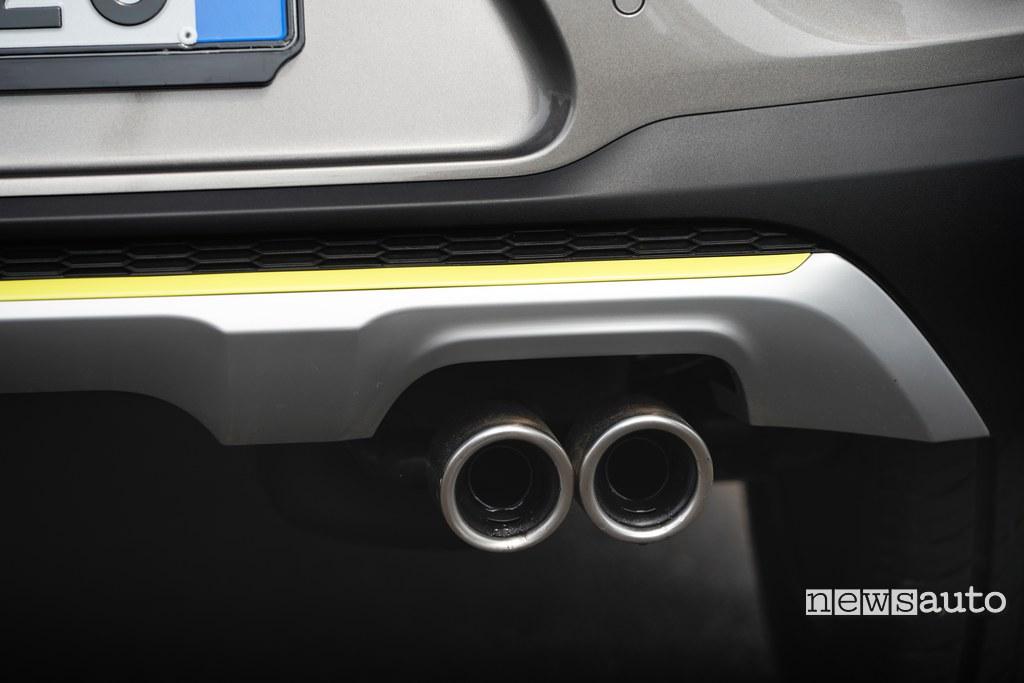 Kia Picanto X Line doppio scarico cromato