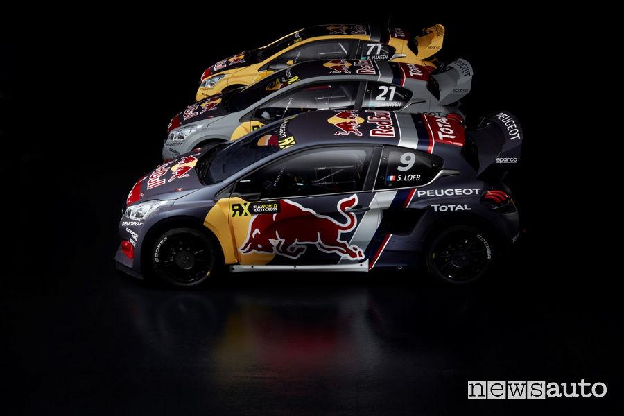 Peugeot Rallycross WRX 2018