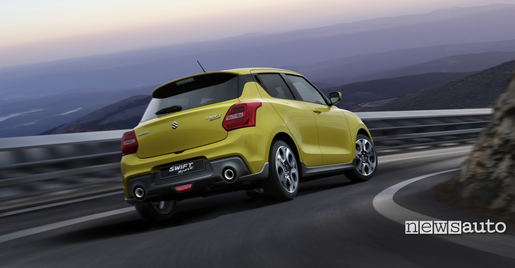 Suzuki Swift Sport Boosterjet