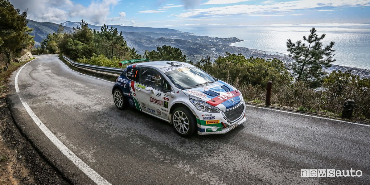 Classifica Rally Sanremo 2018 Peugeot Andreucci