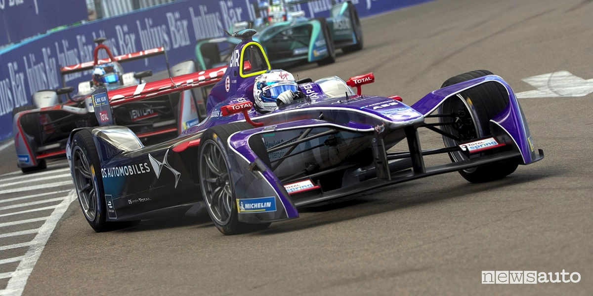 Formula E Roma 2018 DS Virgin Racing
