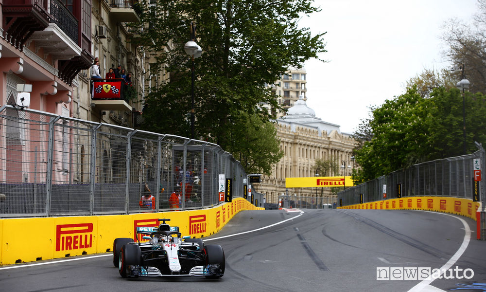 F1 2018 classifiche gara Azerbaijan Mercedes Hamilton