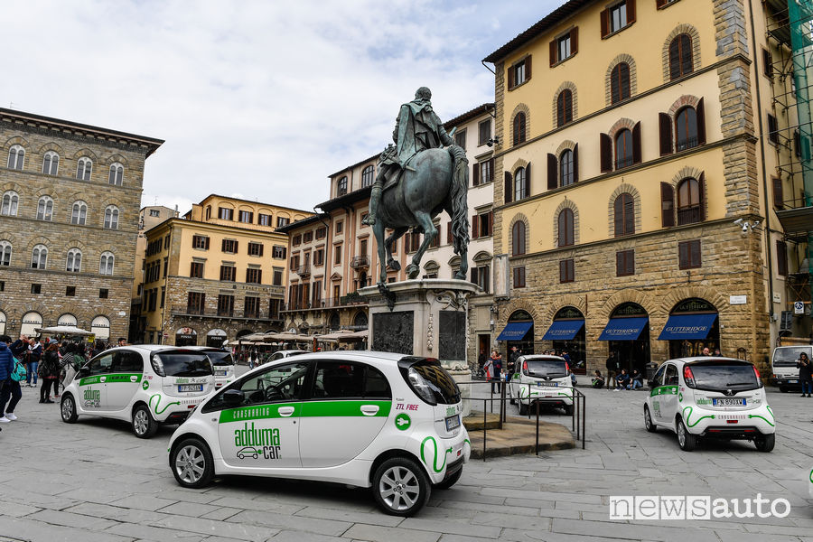 Car sharing Firenze PSA