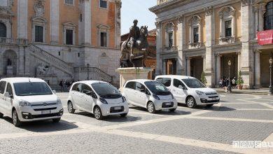 Auto elettriche Roma Groupe PSA