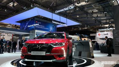 Photo of DS 7 Crossback veicolo connesso con Huawei