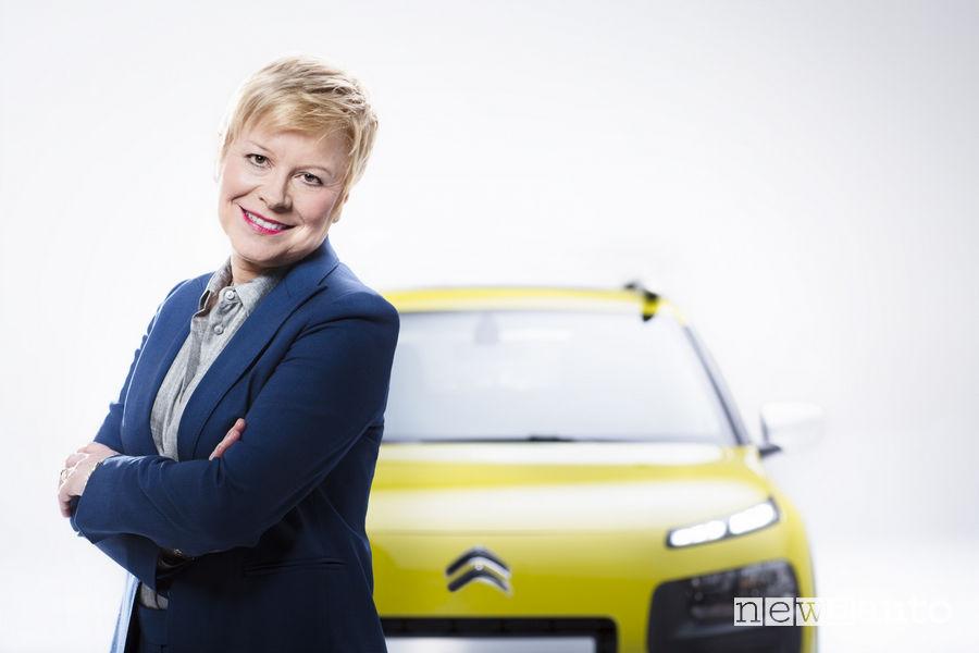 Linda Jackson, direttrice del marchio Citroën