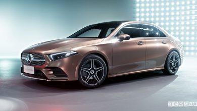 Photo of Mercedes Classe A berlina per il mercato cinese