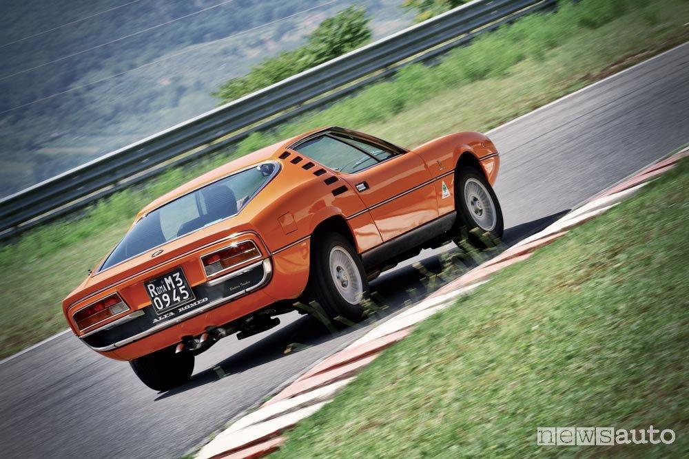 Alfa Romeo Montreal 2.6 V8 posteriore