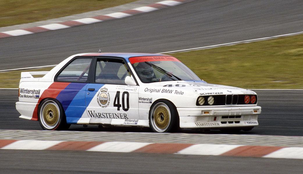 BMW-M3-E30-j2-storica auto da corsa a basso prezzo