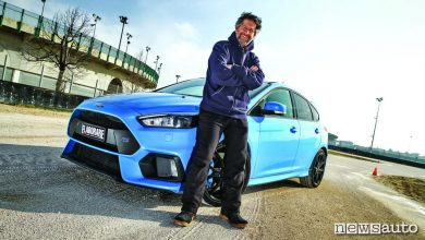 Photo of Ford Focus RS 350 CV la prova in Drift con Graziano Rossi a Misano