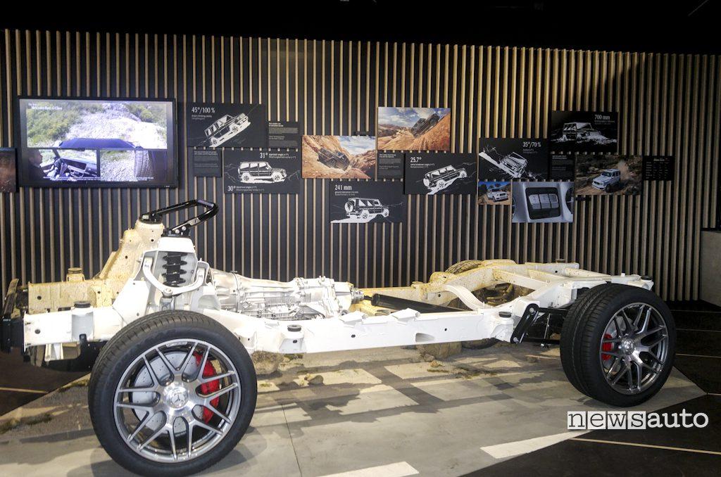 Mercedes-Benz Classe G 2018 telaio