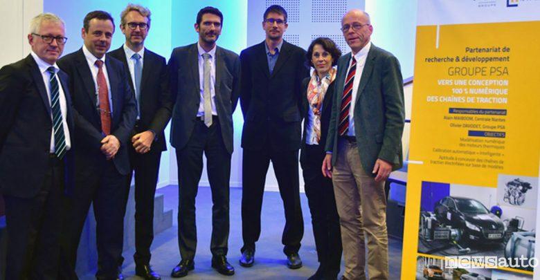 Progettazione digitale Groupe PSA Ecole Centrale de Nantes