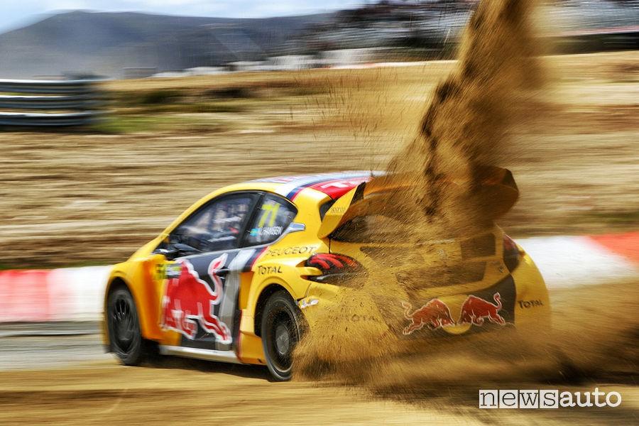 Peugeot Rallycross Belgio WRX 2018