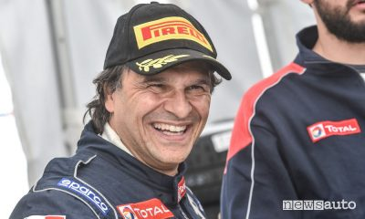 Peugeot rally Paolo Andreucci alla Targa Florio