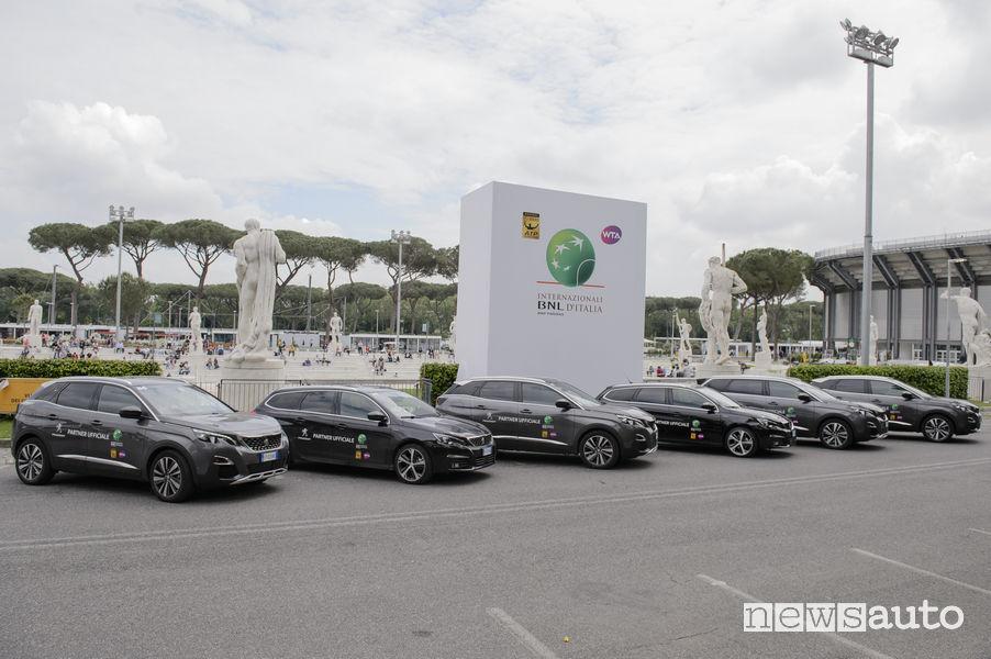 Peugeot agli Internazionali Tennis Roma 2018