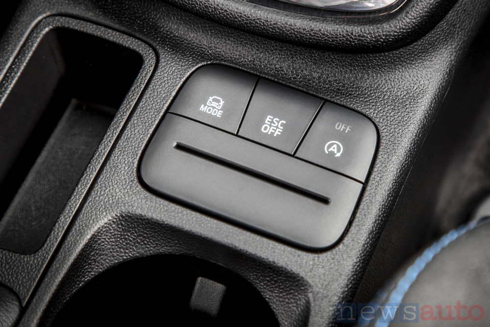 Fiesta ST 2018 pulsante drive mode ESC OFF - Start/&Stop Off