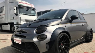 Photo of Abarth 500 elaborata Baronio Romeo Ferraris