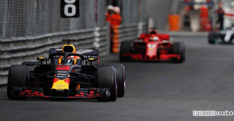 F1 2018 classifiche gara Montecarlo Red Bull Ricciardo