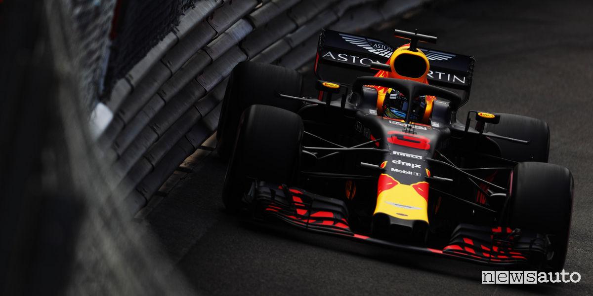 Qualifiche F1 Gp Monaco Red Bull Ricciardo