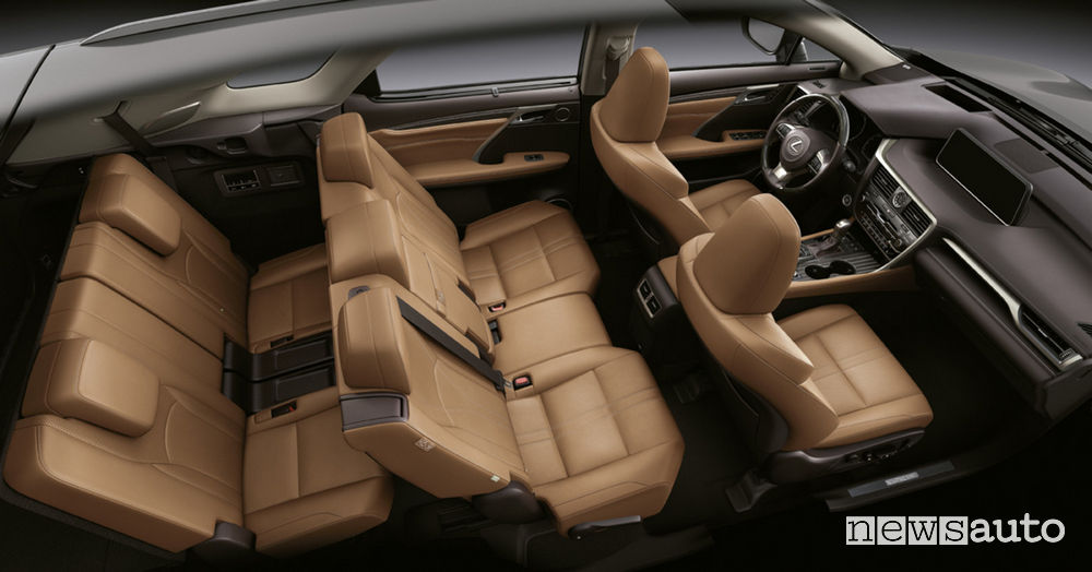 Lexus RX L nuovo SUV sette posti